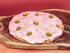 Pizza de jamón (entera)