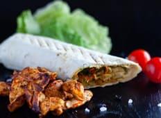 Kebab de pui shaorma