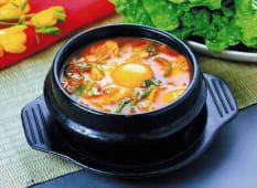 Soft Tofu Stew (with rice)