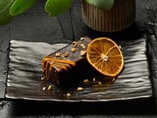 Шоколадно-маракуєвий десерт