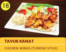 Tavuk kanat - chicken wings Turkish style 6pcs