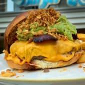 Burger jamaica (150 g.)