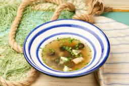 Солянка рибна з масляною рибою (350г)