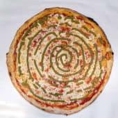 Pizza Pesto (Familiar)