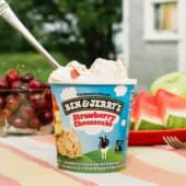 Ben&Jerry's Strawberry Cheesecake (500ml)