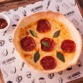 Pizza deepdish de peperonni