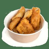 Fish and chips cu cartofi wedges
