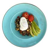 Боул сніданок з кіноа, яйцем пашот, авокадо, томатами  (365)