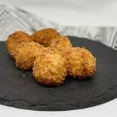 Croquetas de Chorizo y Castaña