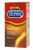 Preservativos durex RealFeel sensitivo (12 uds)