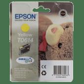 Cartucho De Tinta Epson T0614 Amarillo