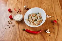 Вареники з картоплею та грибами (12шт)