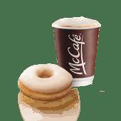 Donut (ud.) + café (14 oz.)