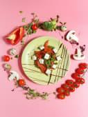 Сир тофу з овочами (130г)