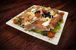 Hrskava salata pršut - rukola