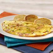 Omelettes de jamón y queso