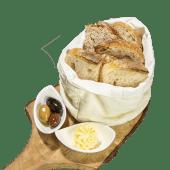 Coș cu pâine