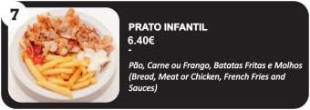 Prato Infantil