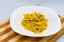 Spaghetti di semola alla carbonara