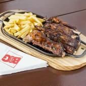 Double Rack Mbuzi Ribs Combo