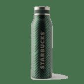 Butelka termiczna Herringbone zielona 15oz