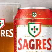 Cerveja Sagres 0,33cl