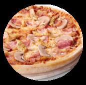 Telepizza barbacoa creme queso