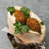 Pita veggie falafel fav