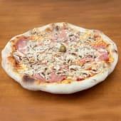 Pizza Capricciosa + Coca Cola