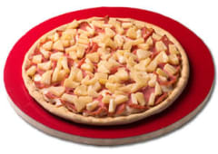 Pizza gigante hawaiana