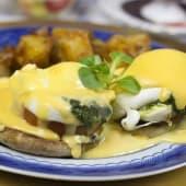Huevos Benedict Barcelona (sin gluten)
