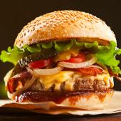 Hamburguesa Jack Daniels burger con ternera asturiana