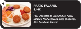 Prato Falafel