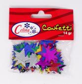 Confeti 14Gr Estrellas Grandes Ref.050-0069