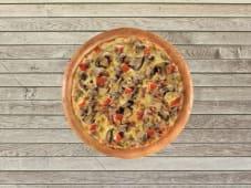 Pizza Double Forestière - Pâte Traditionnelle