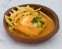 1. Francesinha Vegetariana