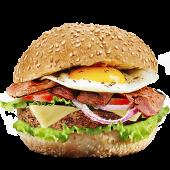 Hamburguesa súper Hungry