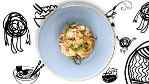 Shrimp fried rice (235г)
