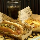 Menú maxi hot dog
