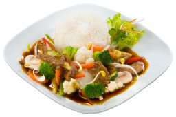 Wołowina smażona Chop-suey z warzywami