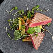 Стейк з тунця Татакі з овочами (130/100г)