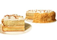 Torta mojada de vainilla mediana (25 porciones)
