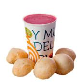 Combo 3 (1 yogurt de 12 oz + 5 panes de yuca)