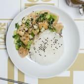 Tofu al sésamo