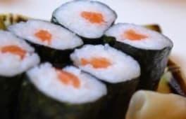 28.Hosomaki de salmón (8 uds.)