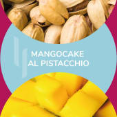 Barattolino '';Mangocake al pistacchio'' 500gr