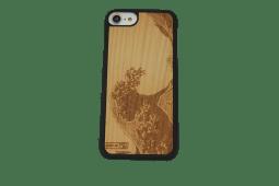 cover in legno/pelle/ pietra con bordi antiurto