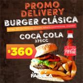 Burger Clásica + bebida