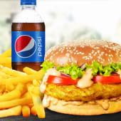 Meniu XL Burger de pui