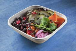 Bowl de verduras asadas